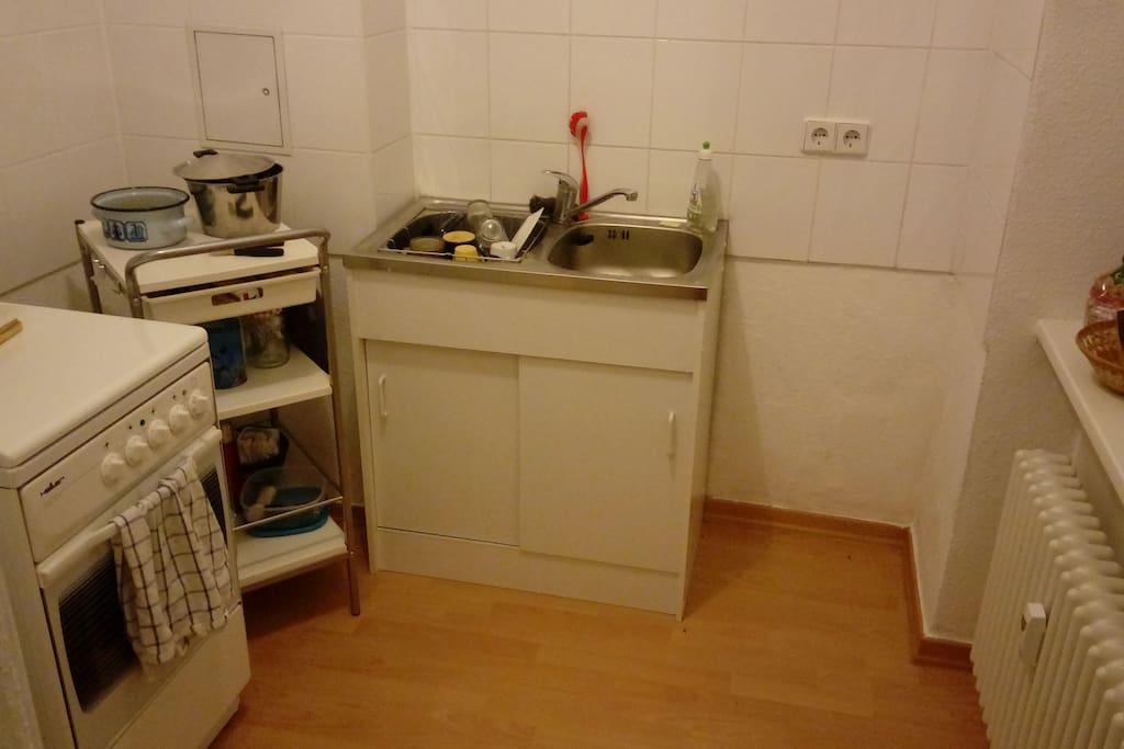 the kitchen // Die Küche