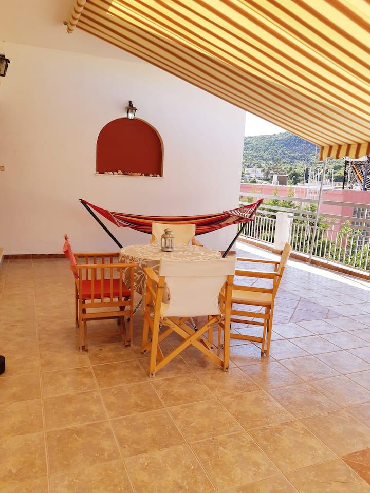 Sunny House in Souvala, Aegina