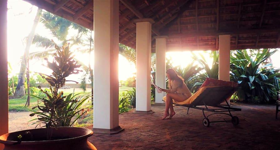 Relax and enjoy the sundown!