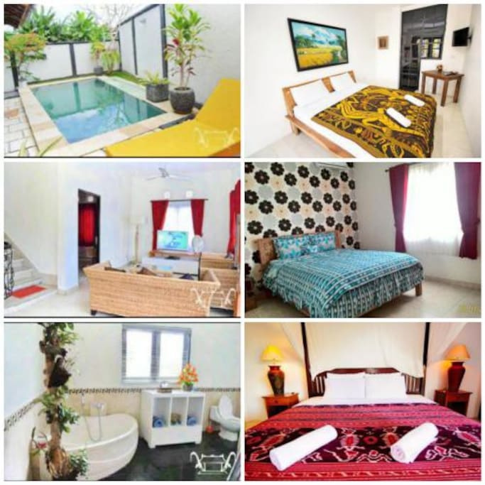 For rent ;   < Available Nov 3 , 2016 > monthly 18 mill ( 1,300 $ ) > Electricity Excluded  yearly 180 mill ( 13,000 $ )  just 10 minute to berawa beach , seminyak , SEMER , BUMBAK , BATU BELIG  4 BR with pool , wifi , kitchen , living room , TV cable , AC , 2 storey , good maintenance villa , 3 x cleaning HK ,  laid on canggu , only 3 minute from PEPITO CANGGU / BALI BUDHA ,  Good live in bali  interested just contact me ; WA +62 87 861 661 428 Google maps ; -8.646414, 115.165382