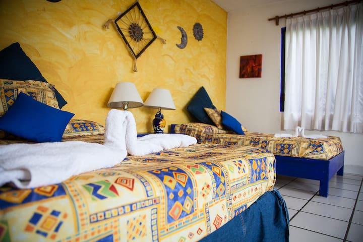 RECAMARA SOLES 2 camas matrimoniales
