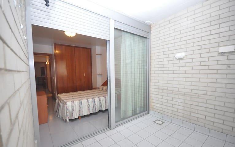 Habitación doble con patio interior privado