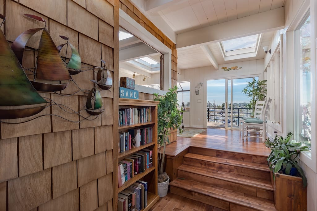 Skylights allow the natural daylight in to the home