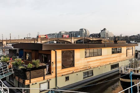 Chelsea Houseboat on The Thames - Londres