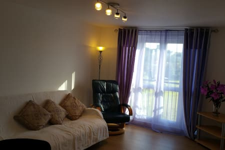 Large comfy double bedroom
