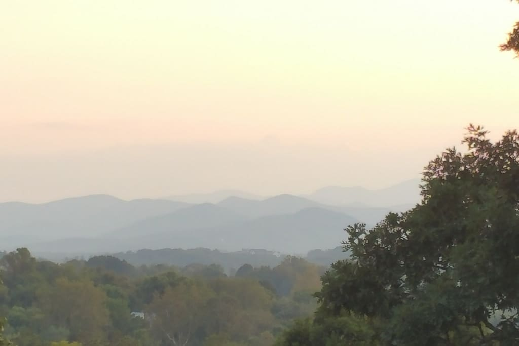 The View of Mt. Pisgah