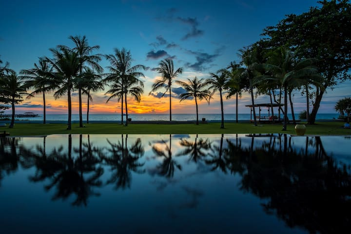 Tranquil Ocean View Beachfront Villa - Villa Jia - Tambon Khok Kloi - วิลล่า