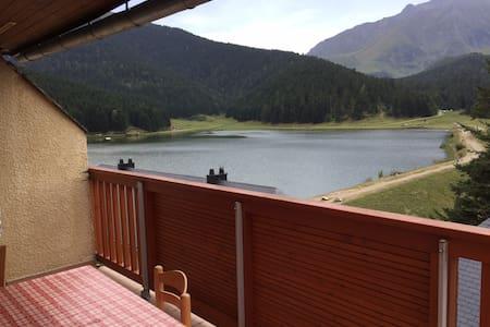 Appartement avec vue panoramique lac de payolle