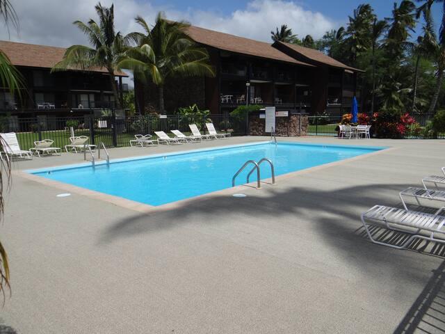 Molokai Shores Condo - steps to pool and  beach!