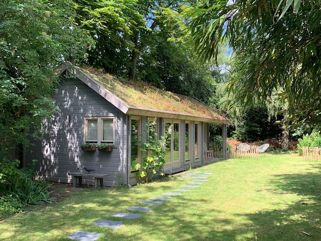 Breda, Garden House with Sauna and Wooden stove