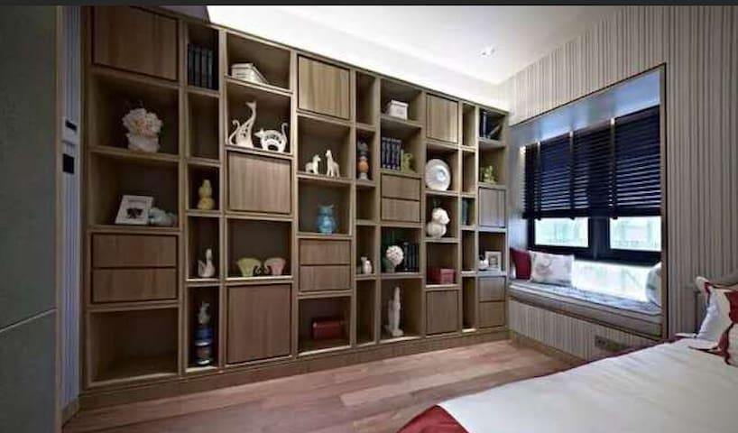 红谷中大道江信国际花园 3室2厅145平 豪华装修 押二付一 - Nanchang - Leilighet