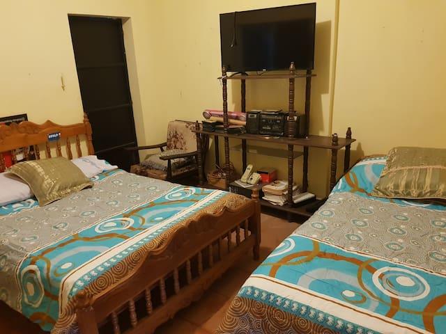 Mi pequeña habitación .