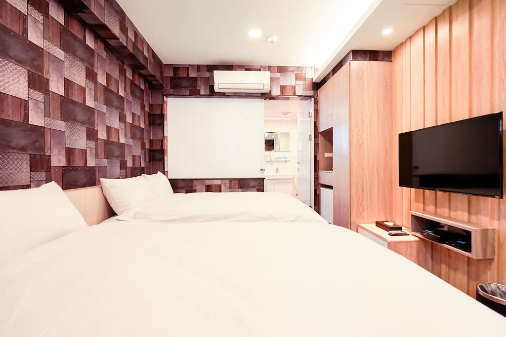 4人房(兩張雙人床)(同房型不選房) 4 people room(two double beds)(The same type no choosing)