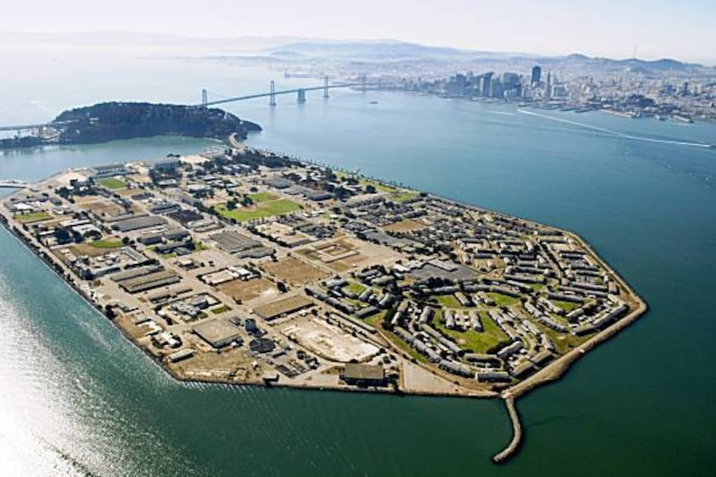Island is right across from Superbowl City
