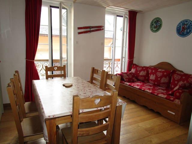 Eco appartment village center 2 bedrooms - WIFI - Cauterets - Apartamento