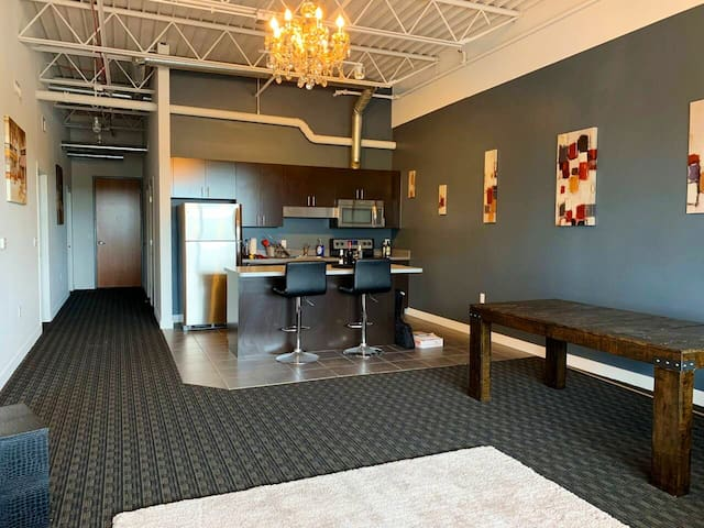Professional Loft in heart of business district