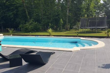 Maison avec piscine à Brantôme en Périgord