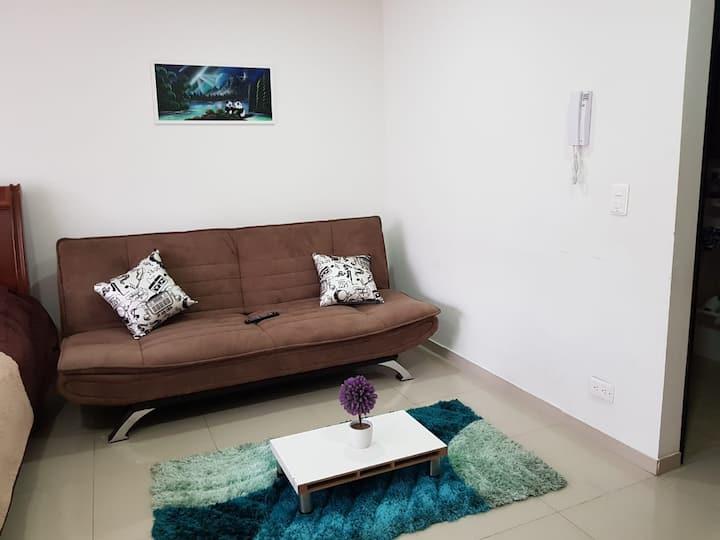 Apartaestudio amoblado tipo loft Bogotá 202