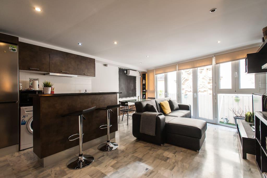 Apartamento en centro hist rico apartamentos en alquiler for Alquiler sevilla centro