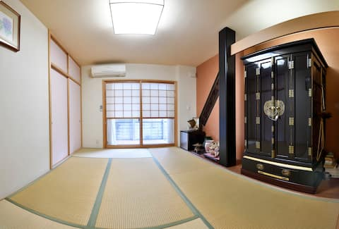 Cozy SHUNTOKU Room (Japanese Style )/Namba 16 mins
