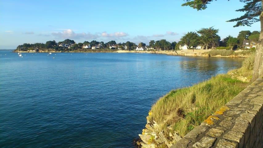 Vue sur l'entrée du Golfe du Morbihan, classé 4*
