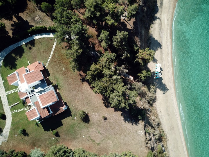 Summerday  Villa  Private  Beach  in  Chalkidiki