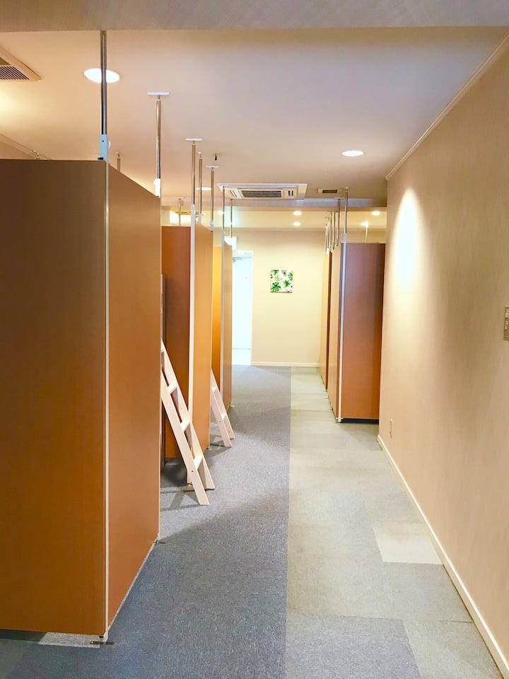 One floor flat in central Fukuyama, Clean&modern