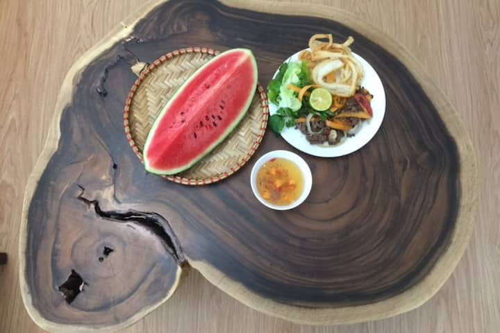 Sample of local food