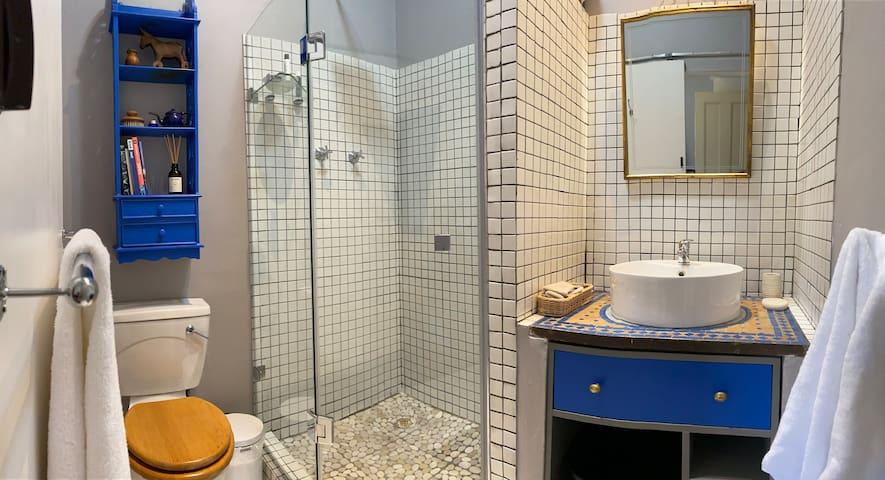En-suite bathroom - Zelij Bedroom.