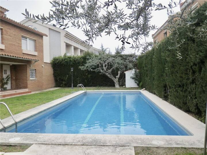 Bonita casa jardin piscina Playa de Vilafortuny a 1300m Port Aventura a 8km
