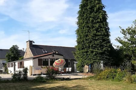 Charmante maison avec grand jardin au calme