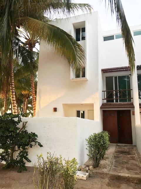 Villa en la playa Carretera Chicxulub-Telchac
