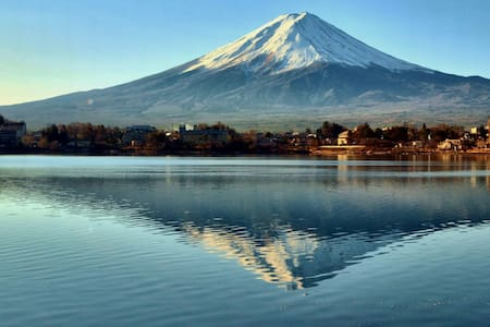 5minutes from sta. Whole house,Wi-Fi,Mt.Fuji,Lake - 南都留郡