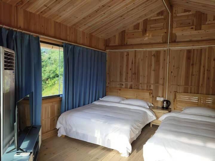 西江老房子民宿独栋双卧室双阳台套房(空调)