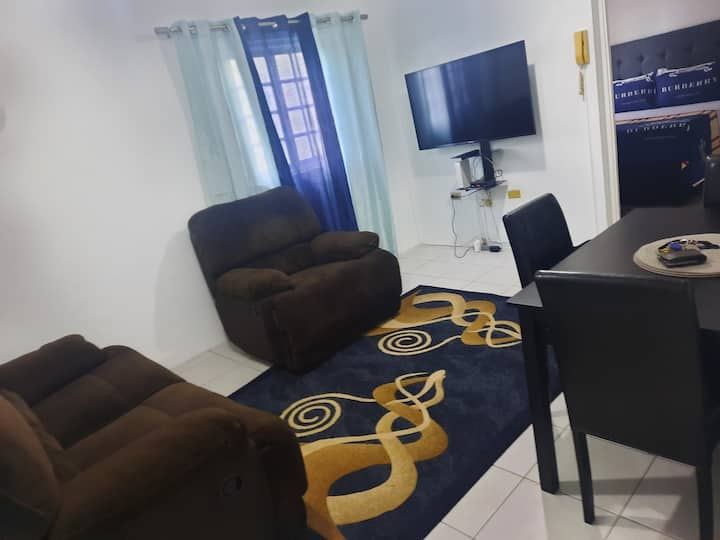 "La Zona De Confort 50""tv,A.C ,Wifi incl. 2 b/room"