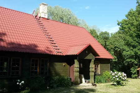 Cosy farmhouse near the sea, Matsalu National Park
