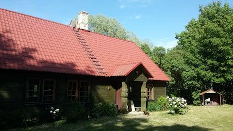 Cosy farmhouse near the sea, Matsalu National Park