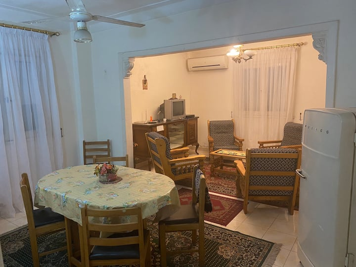 A full Furnished apartment in Roshdy Alexandria