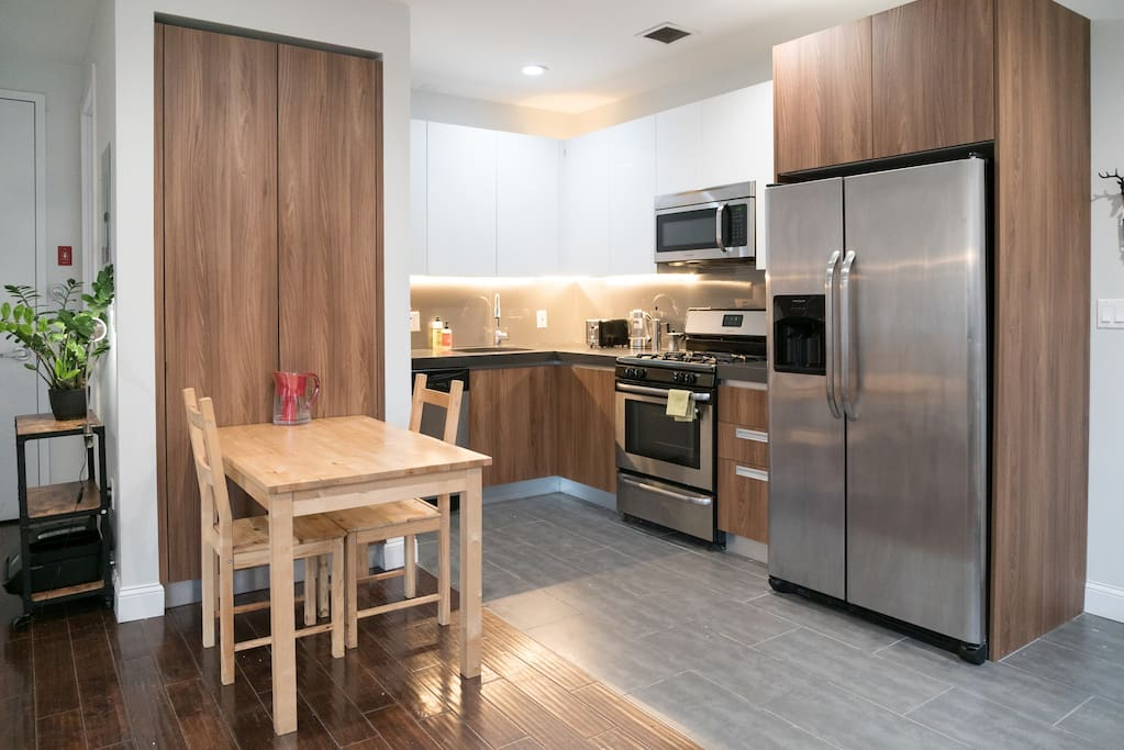 Shared Kitchen and Dining Table