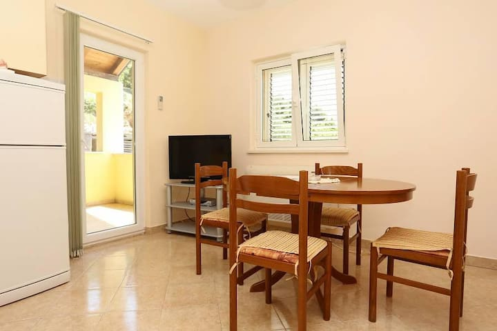 Two bedroom apartment with terrace and sea view Ston, Pelješac (A-10208-a) - Zaton Doli - Altres