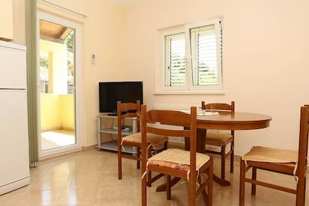 Two bedroom apartment with terrace and sea view Ston, Pelješac (A-10208-a) - Zaton Doli