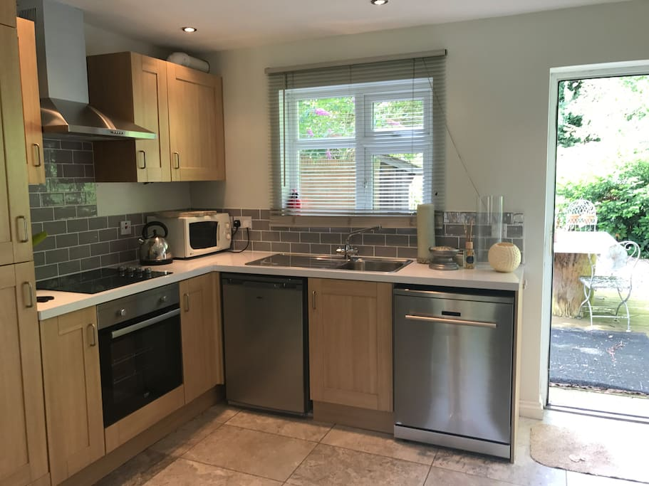 Kitchen for easy access