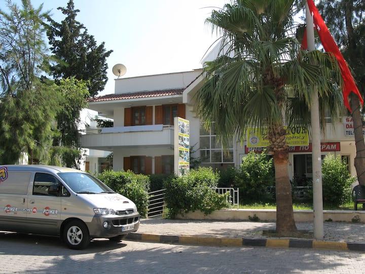 3-х комнатная квартира, дом у моря, центр Кемер