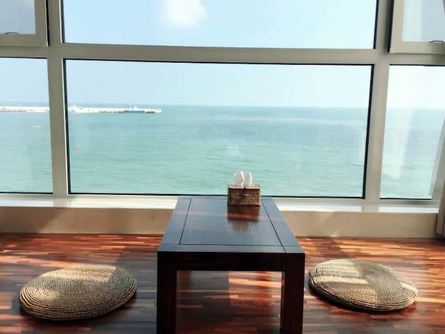 青岛海聆居管家式民墅(仲夏之恋日式海景房) - Qingdao - Vila