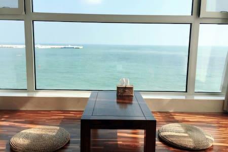 青岛海聆居管家式民墅(仲夏之恋日式海景房) - Qingdao - Villa