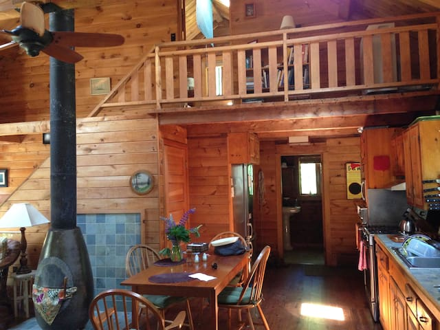 Birdsong Cabin on Two Secluded Wooded acres - Mount Desert - Casa
