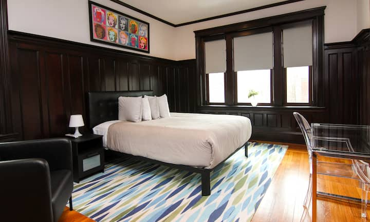 A Stylish Stay w/ a Queen Bed, Heated Floors.. #37