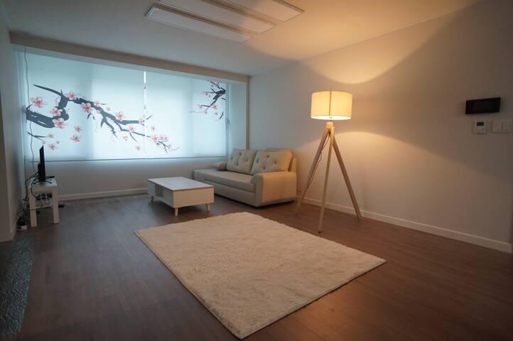 龍山区 二村洞(チョンログ・チュンハクドン)の日本タウンにあるE&S VILLE #101 - Yongsan-gu - Apartamento