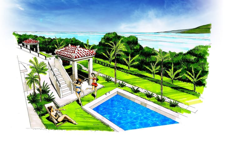 Island Villas feat. PrivatePool/RoofTerrace/Beach