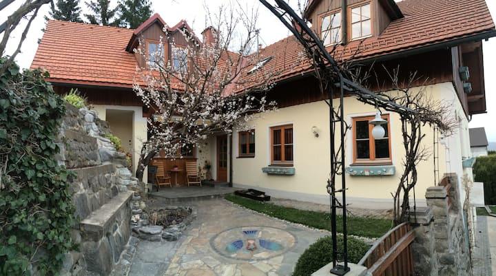 Urlaub, Erholung, Auszeit  am Preßnitzbach